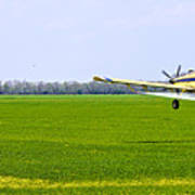 Crop Dusting Art Print