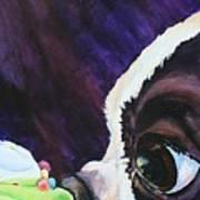 Cupcake Kid Art Print