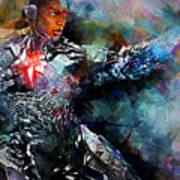 Cyborg Art Print