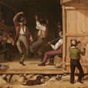 Dance Of The Haymakers Art Print