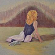 Dancer At Rest Art Print