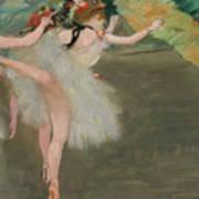 Dancers In White Art Print
