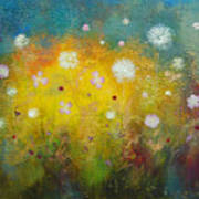Dancing Wildflowers Series Art Print