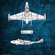 de Havilland Venom Art Print