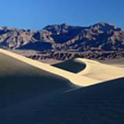 Death Valley Sand Dunes Art Print