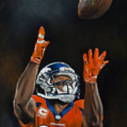 Demaryius Thomas Art Print