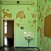 Derelict Hospital Room Art Print