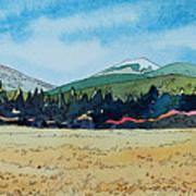 Deschutes River View Art Print