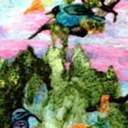 Detail Of Spring Art Print by Kimberly Simon