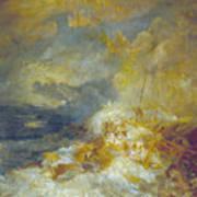 Disaster At Sea Art Print