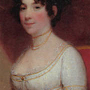 Dolley Madison Art Print by Photo Researchers