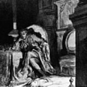 DorÉ: The Raven, 1882 Print by Granger