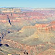 Down The Canyon Art Print