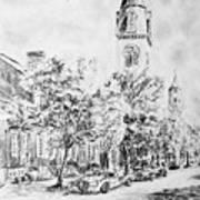 Downtown Fred Art Print