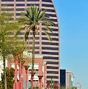 Downtown Phoenix Art Print