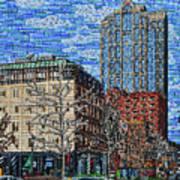 Downtown Raleigh - Fayetteville Street Art Print