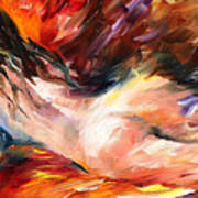 Dreams - Palette Knife Oil Painting On Canvas By Leonid Afremov Art Print