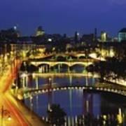 Dublin, Co Dublin, Ireland View Of The Art Print