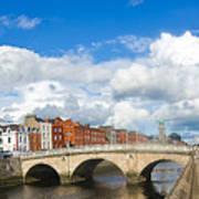 Dublin's Fairytales Around  River Liffey 2 Art Print