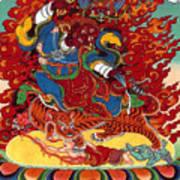 Dudjom's Dorje Drollo Art Print