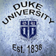 Duke University Est 1838 Art Print