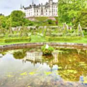 Dunrobin Castle Reflected Art Print