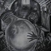 Dying Soul Art Print by Kodjo Somana