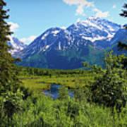 Eagle River- Alaska Art Print