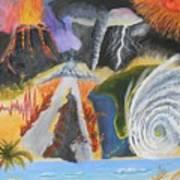 earth Wind and FIRE Art Print