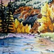 East Clear Creek Art Print