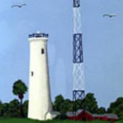Egmont Key Lighthouse Art Print