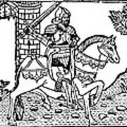 El Cid Campeador (c1040-1099) Art Print