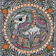 Elephants 1a Art Print