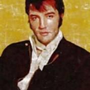 Elvis Presley Y Mb Art Print
