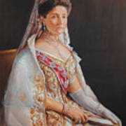 Empress Alexandra Feodorovna Of Russia Art Print