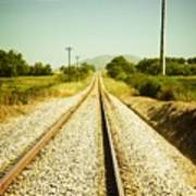 Empty Railway Art Print