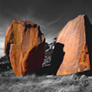 Enchanted Rock Megaliths Art Print