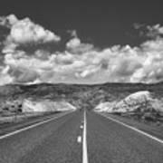 Endless Wyoming  Art Print