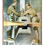Mechanical Training - Enlist In The Air Service Art Print
