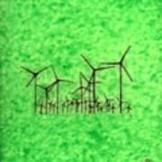 Environmental Forest Art Print