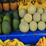 Exotic Fruit Market Art Print