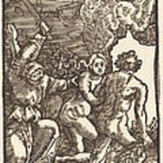 Expulsion From Paradise Art Print