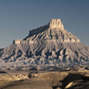 Factory Butte 0562 Art Print
