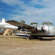 Fairchild Flying Boxcar N15501 Buckeye Arizona Art Print