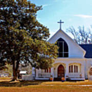 Fairhope Sacred Heart Church Art Print