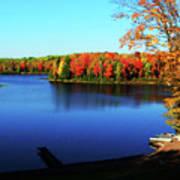 Fall In Northern Wisconsin Art Print