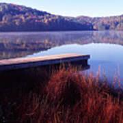 Fall Morning On The Lake Art Print