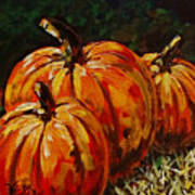 Fall Whisper Art Print by Vickie Warner