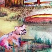 Farm Piggy Art Print