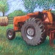 Farm Relic Art Print